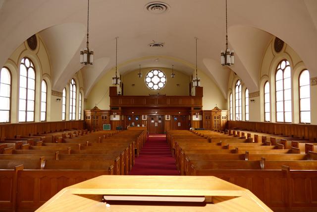 Typical Older Church Interior